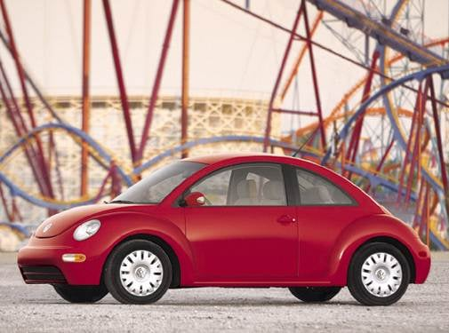 Most Popular Hatchbacks of 2004 - 2004 Volkswagen New Beetle