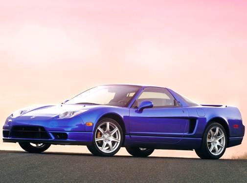 Top Consumer Rated Coupes of 2005 - 2005 Acura NSX