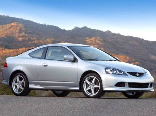 Top Consumer Rated Coupes of 2005 - 2005 Acura RSX