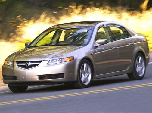 Most Popular Luxury Vehicles of 2005 - 2005 Acura TL