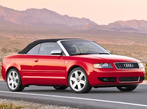 Top Consumer Rated Convertibles of 2005 - 2005 Audi S4