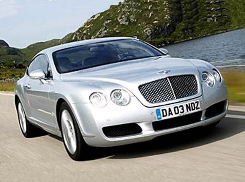 Top Consumer Rated Coupes of 2005 - 2005 Bentley Continental