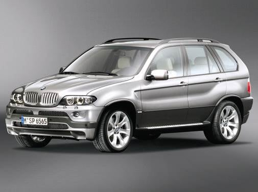 Highest Horsepower SUVS of 2005 - 2005 BMW X5