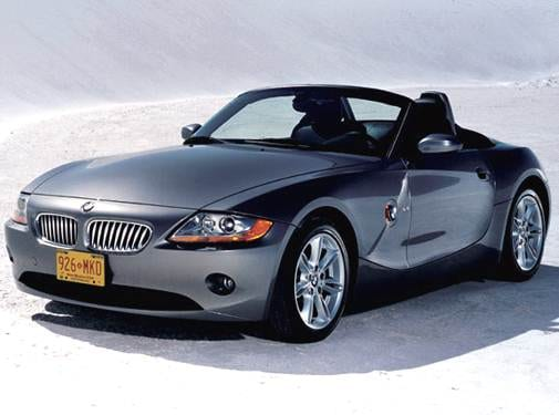 Top Consumer Rated Luxury Vehicles of 2005 - 2005 BMW Z4