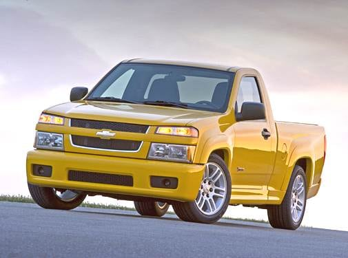 Most Fuel Efficient Trucks of 2005 - 2005 Chevrolet Colorado Regular Cab