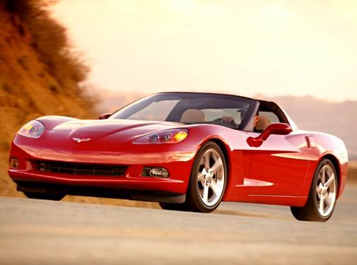 Top Consumer Rated Coupes of 2005 - 2005 Chevrolet Corvette