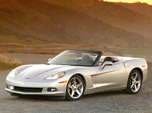 Most Popular Convertibles of 2005 - 2005 Chevrolet Corvette