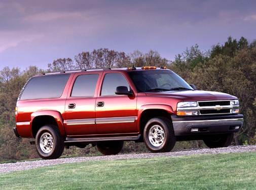 Highest Horsepower SUVS of 2005 - 2005 Chevrolet Suburban 2500