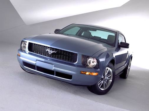 Most Popular Coupes of 2005 - 2005 Ford Mustang