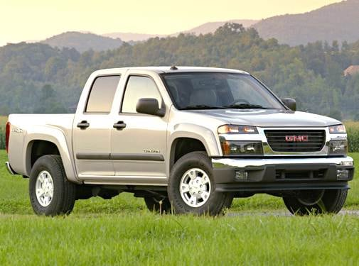Most Fuel Efficient Trucks of 2005 - 2005 GMC Canyon Crew Cab