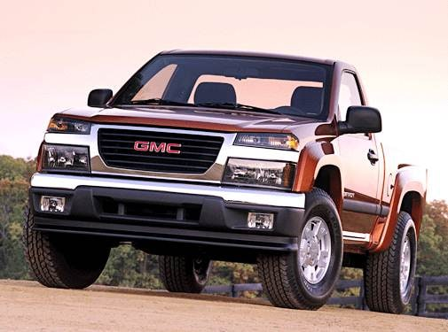 Most Fuel Efficient Trucks of 2005 - 2005 GMC Canyon Regular Cab