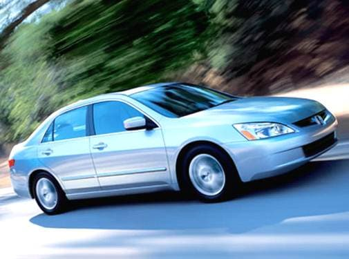 Most Popular Sedans of 2005 - 2005 Honda Accord