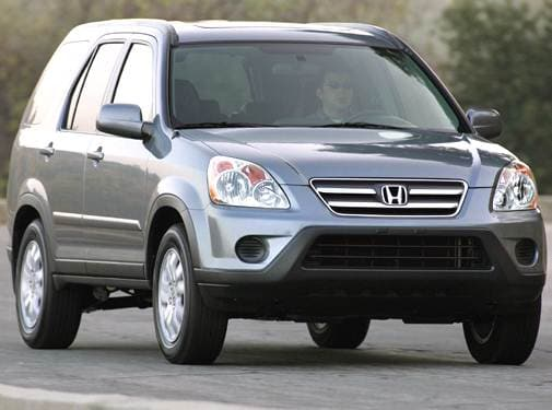 Most Fuel Efficient Crossovers of 2005 - 2005 Honda CR-V