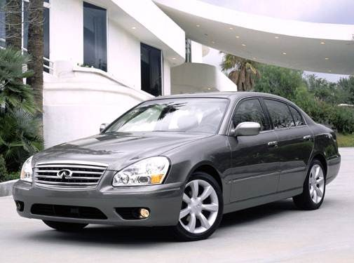 Top Consumer Rated Luxury Vehicles of 2005 - 2005 INFINITI Q