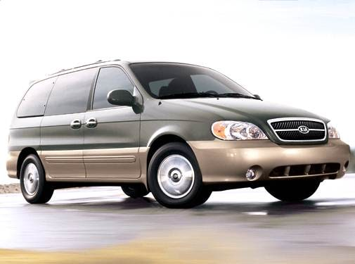 Most Popular Van/Minivans of 2005 - 2005 Kia Sedona