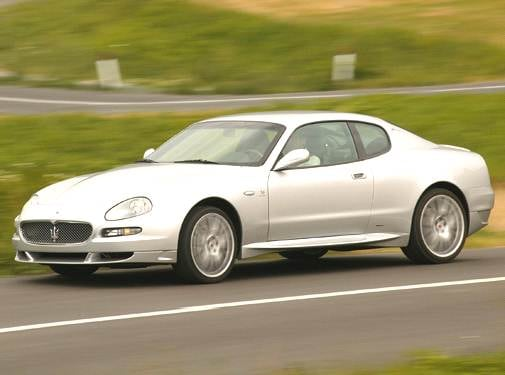 Highest Horsepower Coupes of 2005 - 2005 Maserati GranSport