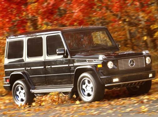Highest Horsepower SUVS of 2005 - 2005 Mercedes-Benz G-Class