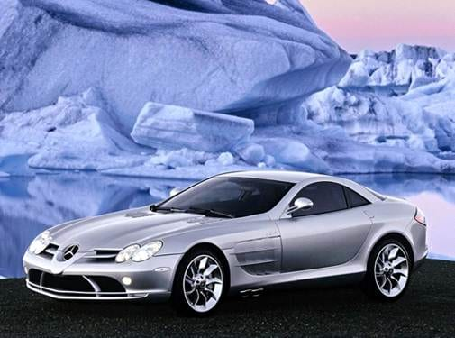 Highest Horsepower Coupes of 2005 - 2005 Mercedes-Benz SLR McLaren