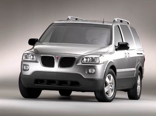 Most Popular Van/Minivans of 2005 - 2005 Pontiac Montana SV6
