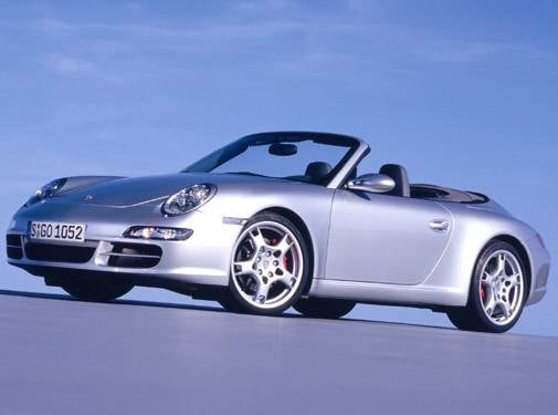 Top Consumer Rated Convertibles of 2005 - 2005 Porsche 911