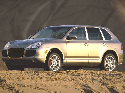 Highest Horsepower SUVS of 2005 - 2005 Porsche Cayenne