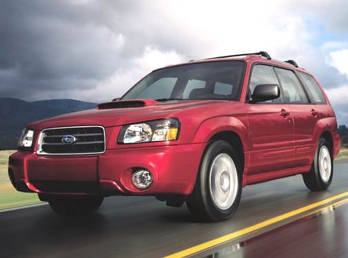 Highest Horsepower Crossovers of 2005 - 2005 Subaru Forester