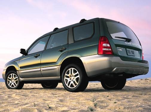Most Fuel Efficient Crossovers of 2005 - 2005 Subaru Forester