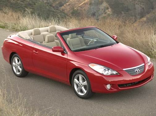 Top Consumer Rated Convertibles of 2005 - 2005 Toyota Solara