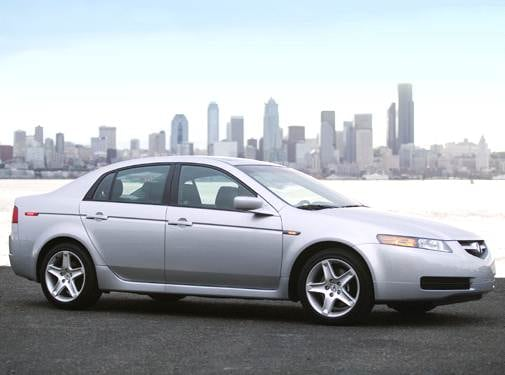 Top Consumer Rated Luxury Vehicles of 2006 - 2006 Acura TL