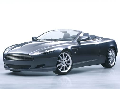Highest Horsepower Convertibles of 2006 - 2006 Aston Martin DB9