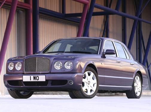 Highest Horsepower Sedans of 2006 - 2006 Bentley Arnage