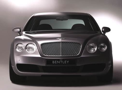 Highest Horsepower Sedans of 2006 - 2006 Bentley Continental