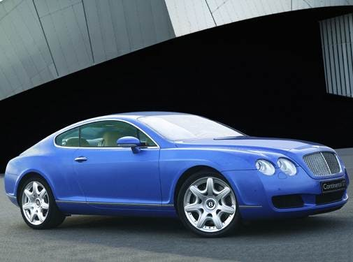 Top Consumer Rated Coupes of 2006 - 2006 Bentley Continental
