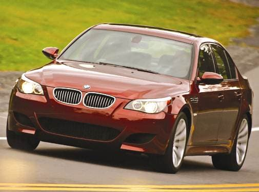Highest Horsepower Sedans of 2006 - 2006 BMW M5