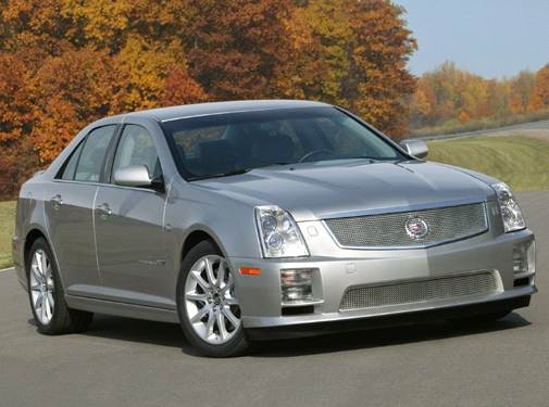 Highest Horsepower Sedans of 2006 - 2006 Cadillac STS