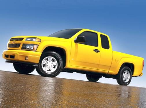 Most Fuel Efficient Trucks of 2006 - 2006 Chevrolet Colorado Extended Cab