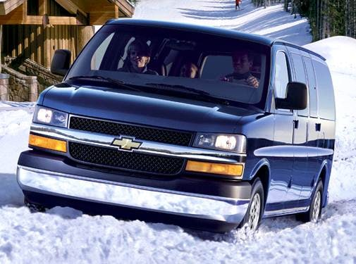 Highest Horsepower Van/Minivans of 2006 - 2006 Chevrolet Express 1500 Passenger
