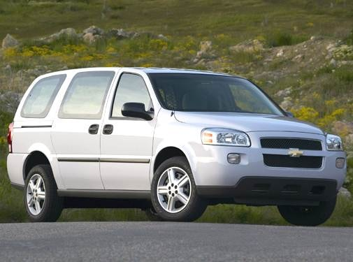 Most Fuel Efficient Van/Minivans of 2006 - 2006 Chevrolet Uplander Cargo
