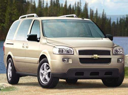 Most Fuel Efficient Van/Minivans of 2006 - 2006 Chevrolet Uplander Passenger