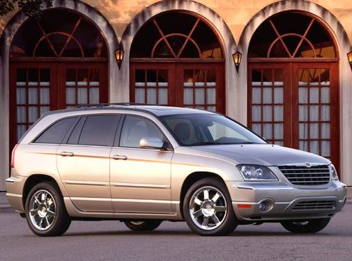 Most Popular Wagons of 2006 - 2006 Chrysler Pacifica