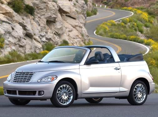 Most Fuel Efficient Convertibles of 2006 - 2006 Chrysler PT Cruiser