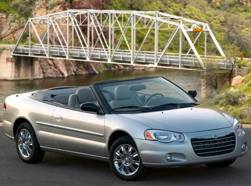 Most Fuel Efficient Convertibles of 2006 - 2006 Chrysler Sebring
