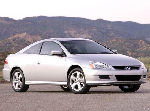 Most Popular Coupes of 2006 - 2006 Honda Accord