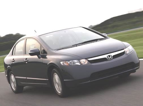 Most Popular Hybrids of 2006 - 2006 Honda Civic