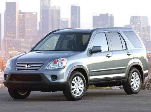 Top Consumer Rated Crossovers of 2006 - 2006 Honda CR-V