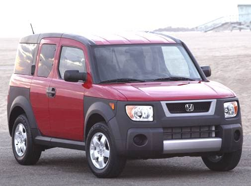 Top Consumer Rated Crossovers of 2006 - 2006 Honda Element