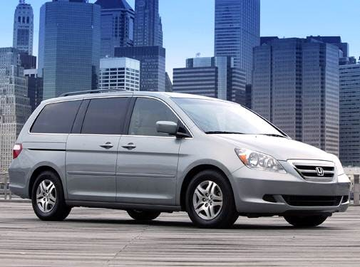Most Fuel Efficient Van/Minivans of 2006 - 2006 Honda Odyssey