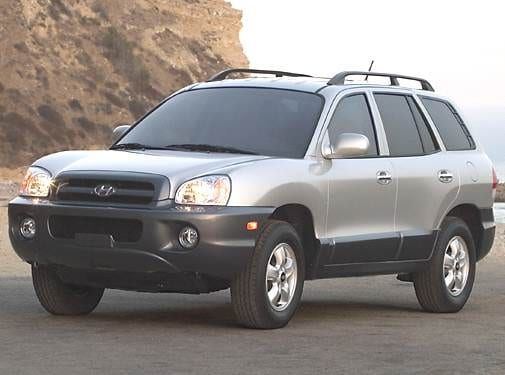 Most Popular Crossovers of 2006 - 2006 Hyundai Santa Fe