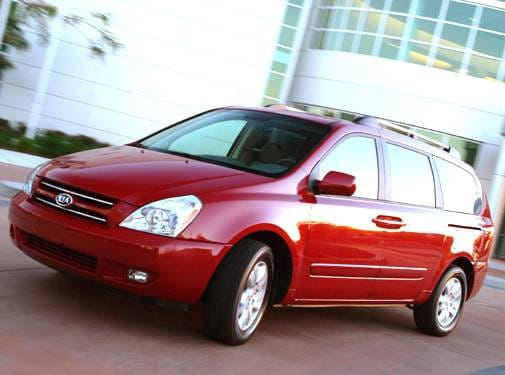 Most Fuel Efficient Van/Minivans of 2006 - 2006 Kia Sedona
