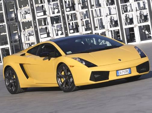 Top Consumer Rated Coupes of 2006 - 2006 Lamborghini Gallardo